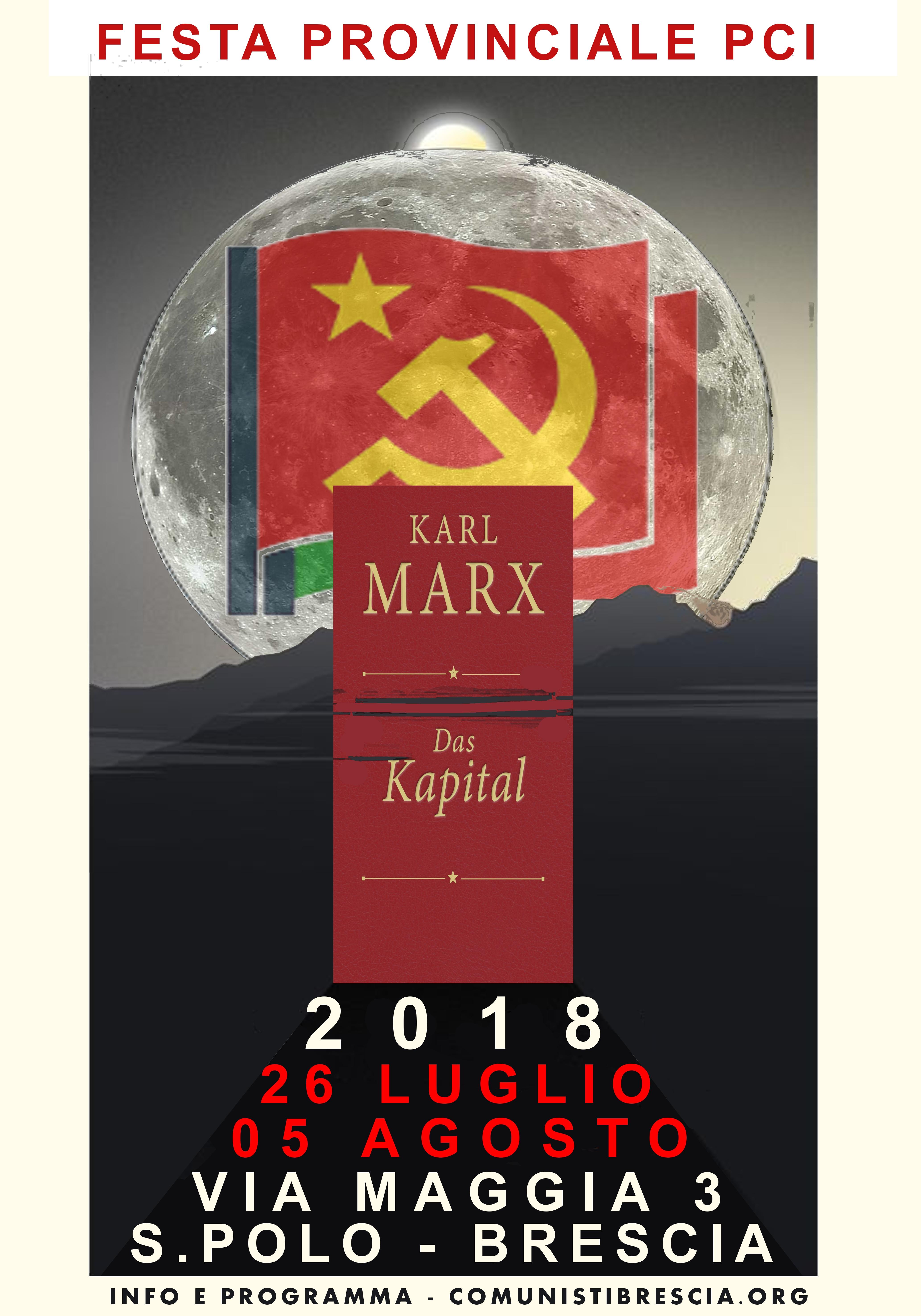IL PROGRAMMA DELLA FESTA 2018